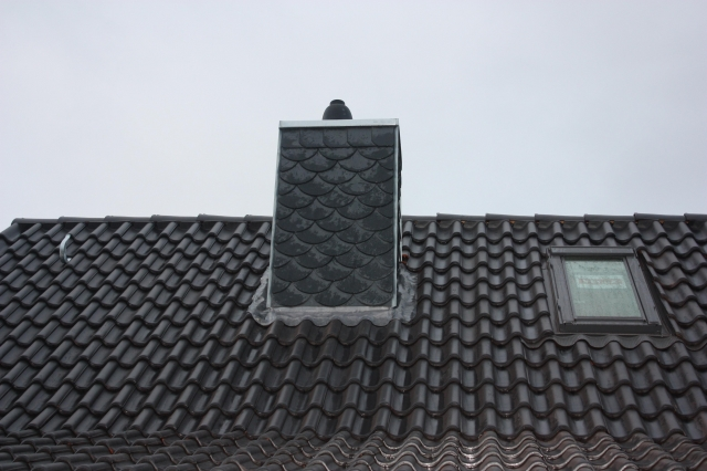 Schornsteinverkleidung - Dachdeckerei Dubberstein Kiel