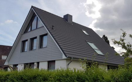 Giebelverkleidung Und Satteldach - Eindeckung - Dachdeckerei Dubberstein