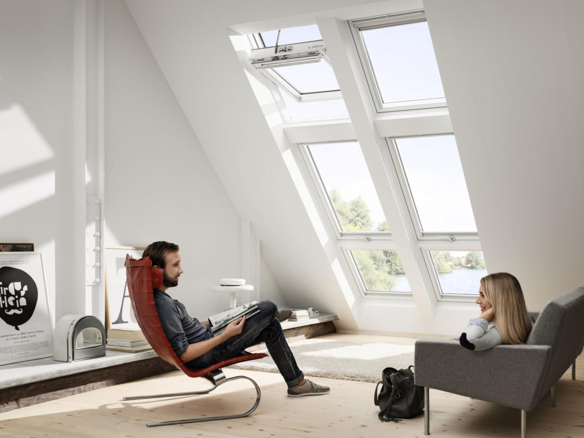 Mehr Tageslicht mit Velux-Fenstern