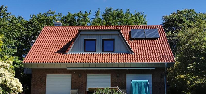 Energetische Dachsanierung - nachher