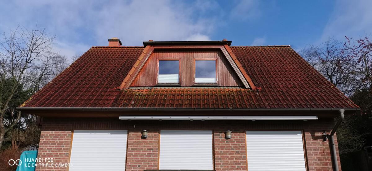 Energetische Dachsanierung - Vorher
